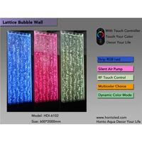 !!!Touch Controlled Led Indoor Bubble Wall