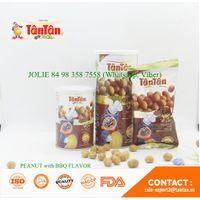 Coated PEANUT with BBQ FLAVOR Snack (Tan Tan Vietnam, Jolie 84983587558)