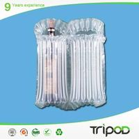 Air bubble bag for red wine,clear air bag,wine glass bottle packing air bag