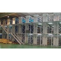 Muti-level mezzanine racking