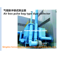 Air box pulse bag type dust collector thumbnail image