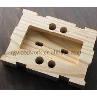 Solid wood walnut cheese mold