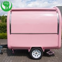 Customized Multifunctional Food Cart Vendor with Factory Price thumbnail image