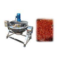 Chili sauce cooking mixer machine