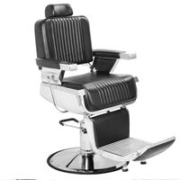 Reclining hair salon barber chair