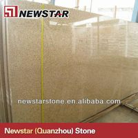 Newstar cheap gloden yellow granite tiles and slabs