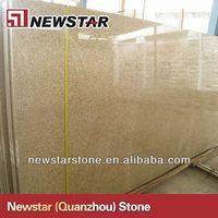 Newstar cheap gloden yellow granite tiles and slabs