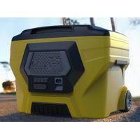 50L Camping wheeled cooler box with bluetooth speaker thumbnail image