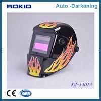 Auto darkening welding helmet/welding mask