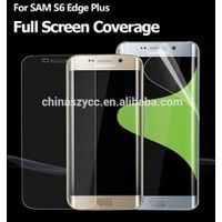 Precise full size screen guard for Samsung galaxy S6 edge plus anti broken anti-shock film