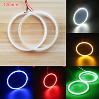 Wholesale 120mm Angel Eyes 12V DRL Halo Ring