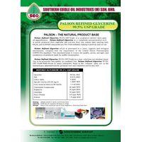 Palson Refined Glycerine 99.5% USP Grade