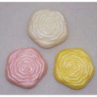 Handmade Scented Glycerin Bath Soap For Hotel in Rose Shape