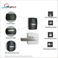 SP01-Y hotel door lock system with free software