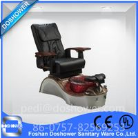 Doshower DS-W25 manicure and pedicure set of luxury throne spa pedicure chairs thumbnail image
