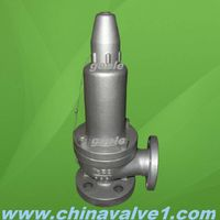 Spring loaded full lift safety valve