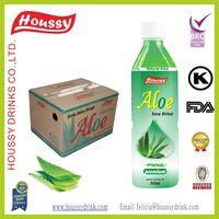 Houssy brand light aloe aloe vera drink