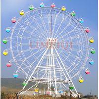 Giant ferris wheel for fun amusement park thumbnail image