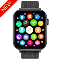 FK78 Smart Watch Bluetooth Call 1.78 Inch HD Screen Heart Rate Monitor Men Women Smartwatch