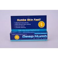 Deep Numb no pain cream for tattoo/microneedle/tattoo removal use