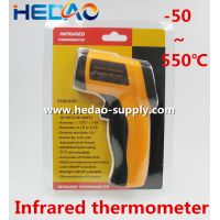 Infrared handled Thermometer with gun shape -50~550 C