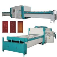 Woodworking Machinery automatic pvc foil vacuum membrane press machine