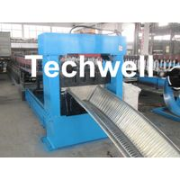 K Span Roof Panel Roll Forming Machine For Coil Width 914mm, 17.7kw Capacity Power