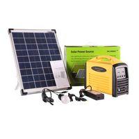 portable solar lighting kit, solar lamps, solar chargers for mobile phone, portable solar power gene thumbnail image