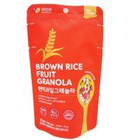 Brown rice fruit granola 35g