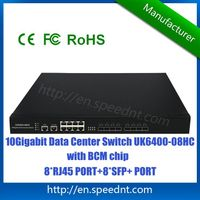 Original 10Gigabit Data Center Switch UK6400-08HC high bandwidth for data aggregation 8 10G SFP+ por