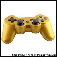 Gold Game Controller For Sony PS3
