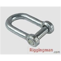 Rigging JIS TYPE SCREW PIN CHAIN SHACKLE WITH COUNTER SUNK HEAD