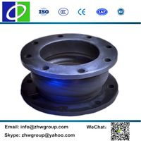 HD601 DN350 hand-build high pressure rubber expansion joint thumbnail image