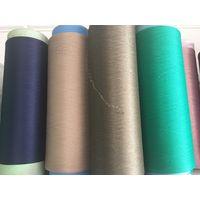 3075 spun spandex polyester filament yarn for knitting