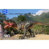 realistic animatronic dinosaur