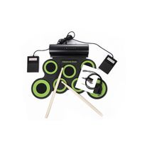 iword G3001A 7 Pads Portable Electronic Drum Set Built-in Speakers