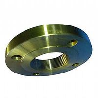 ASTM A182 F11, F22 NPT Thread Flanges, Golden, RF, EN1092-1 thumbnail image
