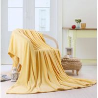 100% Polyester Printed Solid and Soft Coral Velvet Fleece Blanket