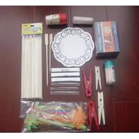 toothpicks, skewers, paper doilies thumbnail image