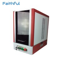 Hot sale safety closed fiber laser 20w marking machine to America thumbnail image