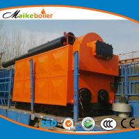artificial fuel feeding biomass pellet wood fired steam boiler