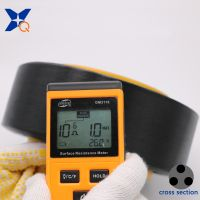 XTAA192 conductive carbon inside black polyester fiber filaments ESD gloves 20D/4F ESD fabrics