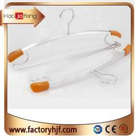popular multifunction heavy duty Flat Style and Garment Usage clothes hanger shoulder protection han