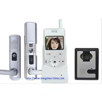 Wireless video door control system