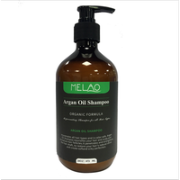Melao Naturals Organic Moroccan Argan Oil Shampoo & Argan Oil Conditioner - Sulfate Free