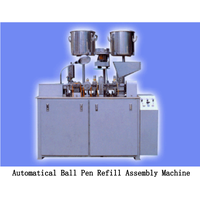 Gel Refill Pen Assembly Machine