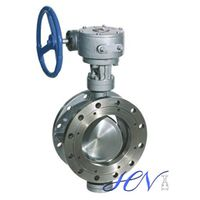 Flange Type Double Eccentric Butterfly Valve for Flow Control thumbnail image