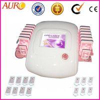 AU-66 laser slim 12pcs big and 2pcs small laser pads for Laser lipolysis beauty machine