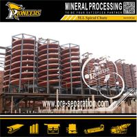 Zircon Ore Dressing Equipment 5LL Spiral Separator
