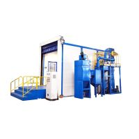 Dust Cleaning Rust Removal Booth High Quality Sand Blasting Room thumbnail image